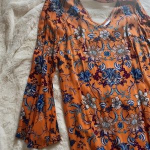 Xhilaration Small Bell Sleeve Dress